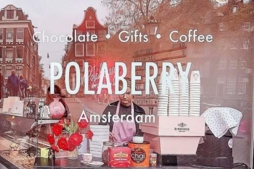 アムステルダムのオシャレカフェPOLABERRY