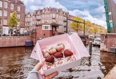 アムステルダムのおしゃれカフェPOLA BERRY