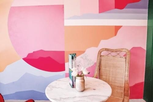 ピンク好きにお勧めしたいアムステルダムのcafe Martinus
