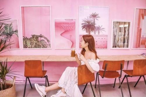 ハールレムの可愛いカフェ