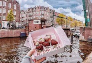 アムステルダムのフォトジェニックカフェPOLABERRY
